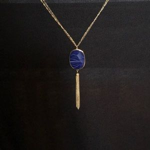 Jewelry - ** 3 for $45 SALE ** Blue Pendant Necklace